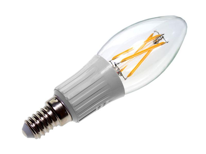 Wonderful Helios E14 filament LED pære, 4W - 400lm - 4W, 2700K - Dioder.no PB-02