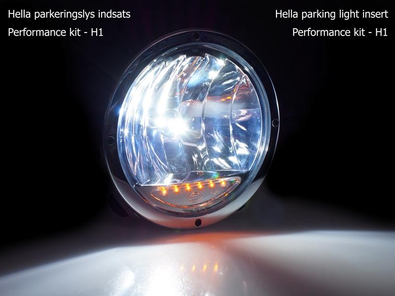 LED parklys innsats til HELLA lamper Dioder.no