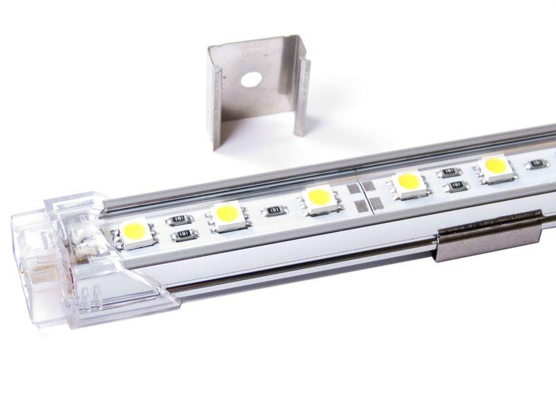 Aluskinne med led lys 50cm 12V 450 Lumen Dioder no